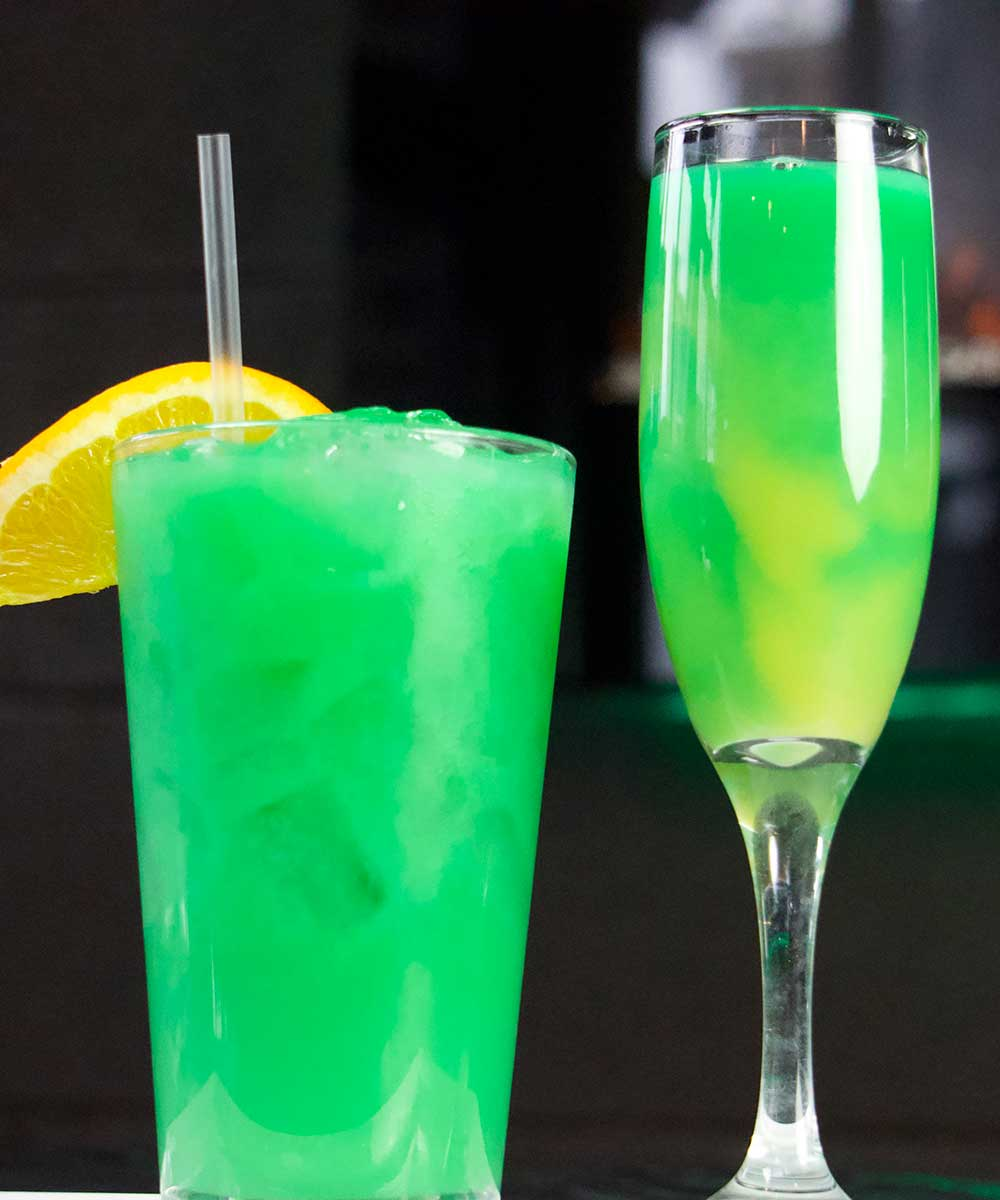 March Specials - Irish Mimosa & Emerald Sunrise